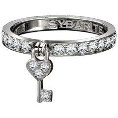 Sybarite Jewellery 18 Karat Gold 0.73 Carat White Diamonds Ring