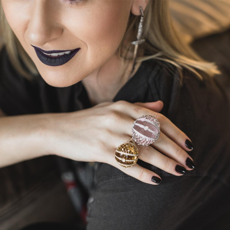 Sybarite Jewellery is a London-based luxury brand crafting outstanding pieces, incomparable both in design and in execution. Spearheaded by founder Margarita Prykhodko, a former architect and engineer, each piece is a fusion of artistry and