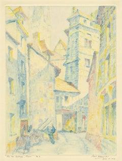 Rue du Hallage - Rouen
