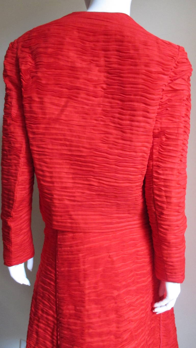 Sybil Connolly Skirt Suit 1960s For Sale 5