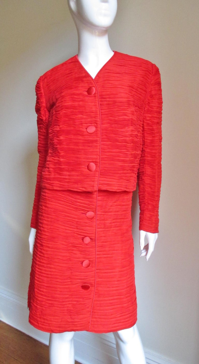 Sybil Connolly Skirt Suit 1960s For Sale 1