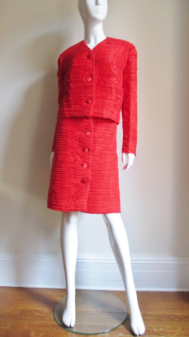 Sybil Connolly Skirt Suit 1960s For Sale 2