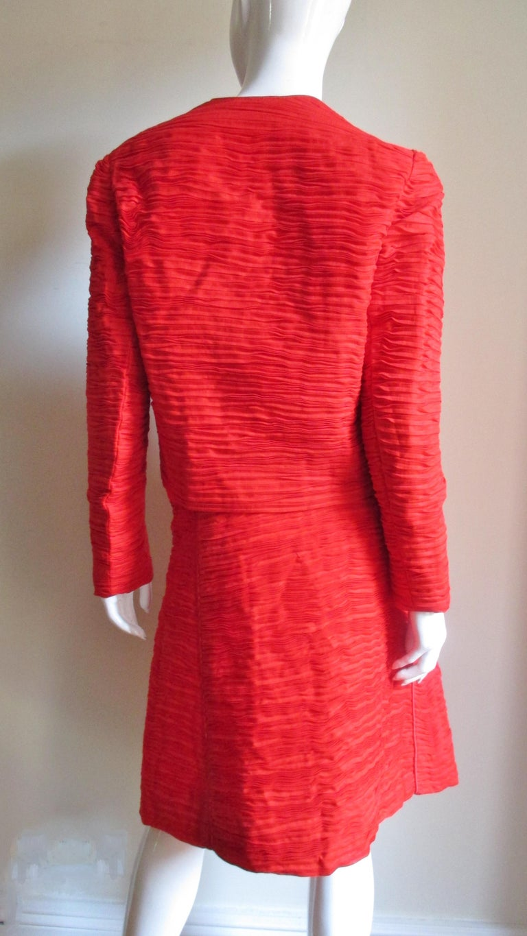 Sybil Connolly Skirt Suit 1960s For Sale 3