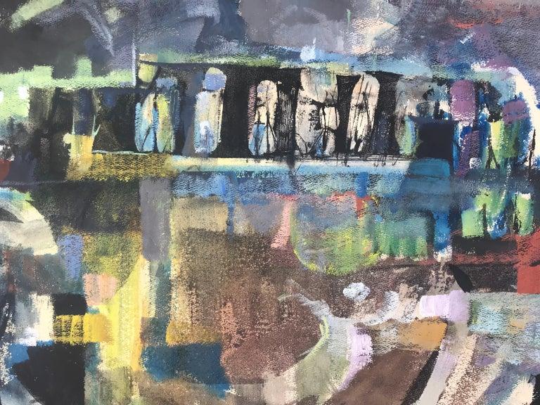 """Abandoned Bridge""  - Post-Modern Mixed Media Art by Syd Solomon"