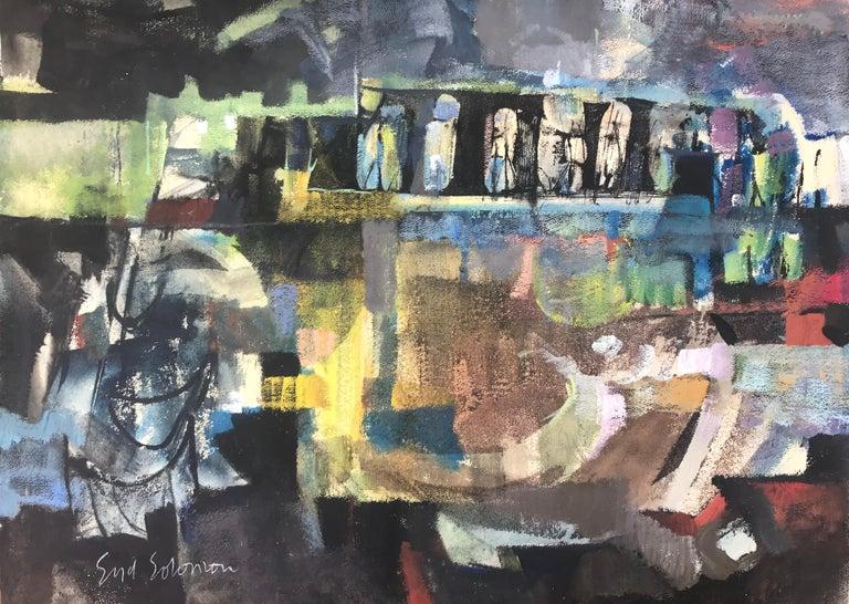 """Abandoned Bridge""  - Mixed Media Art by Syd Solomon"
