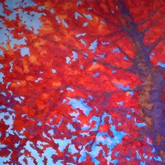 Autumn All Around, Painting, Oil on Canvas