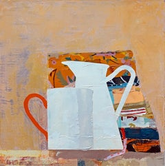 Still Life with Fat Quarters, Cup & Pitcher