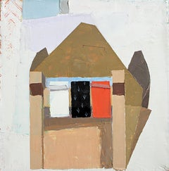 """Sydney Licht """"Still Life with Tape Dispenser and Box"""" -- Oil Painting on Linen"""