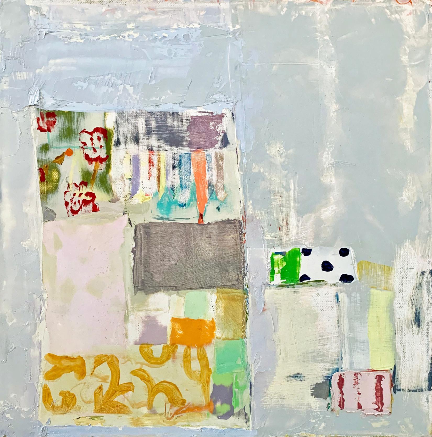 "Sydney Licht ""Untitled"" -- Oil Painting on Linen"