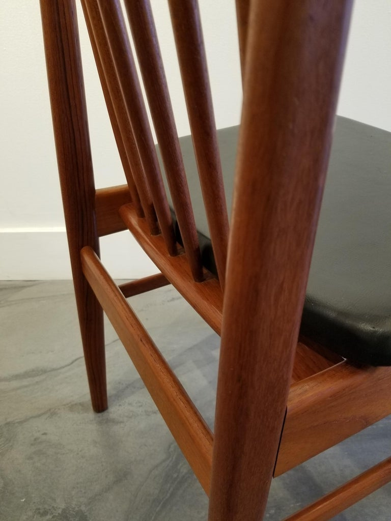 Teak Dining Chairs by Sylve Stenquist for DUX  For Sale 4
