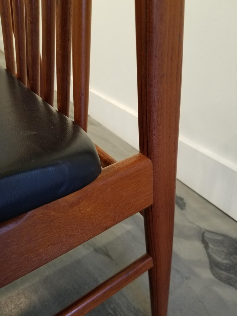 Teak Dining Chairs by Sylve Stenquist for DUX  For Sale 7