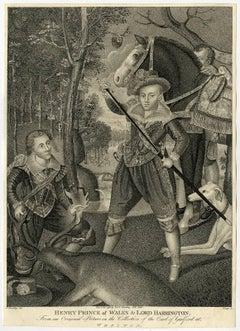 Henry prince of Wales & Lord Harrington.
