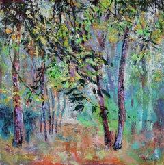 Over Changing brunch  original Landscape painting