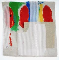 "Sylvia Schwartz 3, 2018, fabric, 16"" x 15"""