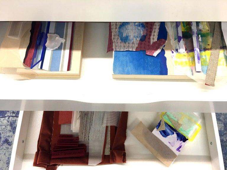 Sylvia Schwartz 9, 2018, wood, fabric, paint. 10' x 16