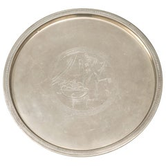 Sylvia Stave Serving Tray Produced by C.G. Hallberg in Sweden