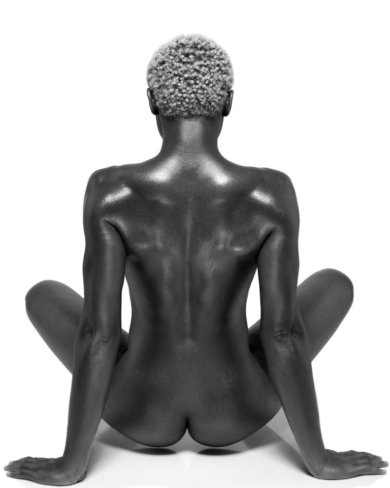 Sylvie Blum Nude Photograph - Female Buddha, 21st century, contemporary, photography