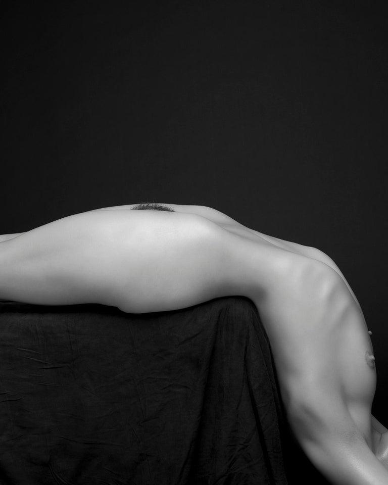 Sylvie Blum Black and White Photograph - L-shape, 21st century, contemporary, photography