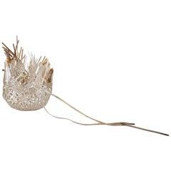 Sylvie Lissa Alusitz Reservoir Basket, Hand Woven Sterling Silver, 2019