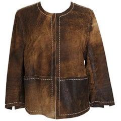 Sylvie Schimmel Leather jacket IT 42 / US 8