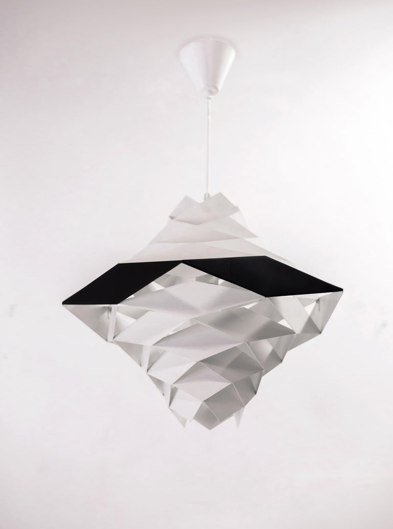 Symfoni Ceiling Light by Preben Dahl, 1960s In Good Condition In Oslo, NO