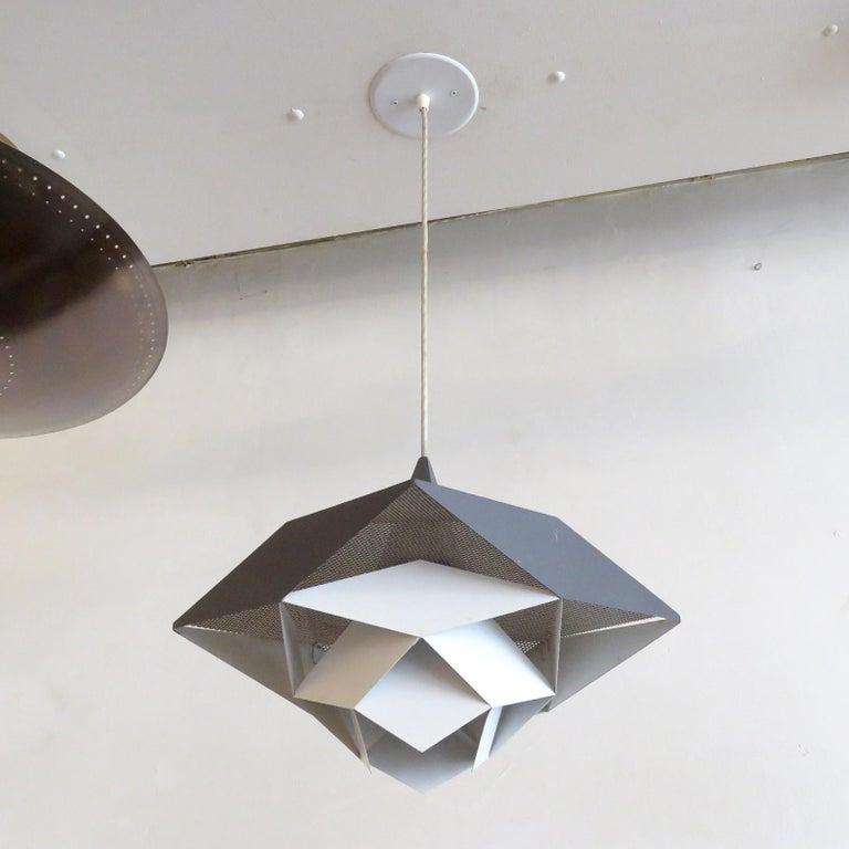 Symfoni Pendant Light by Preben Dahl for Hans Følsgaard, 1960 In Good Condition For Sale In Los Angeles, CA