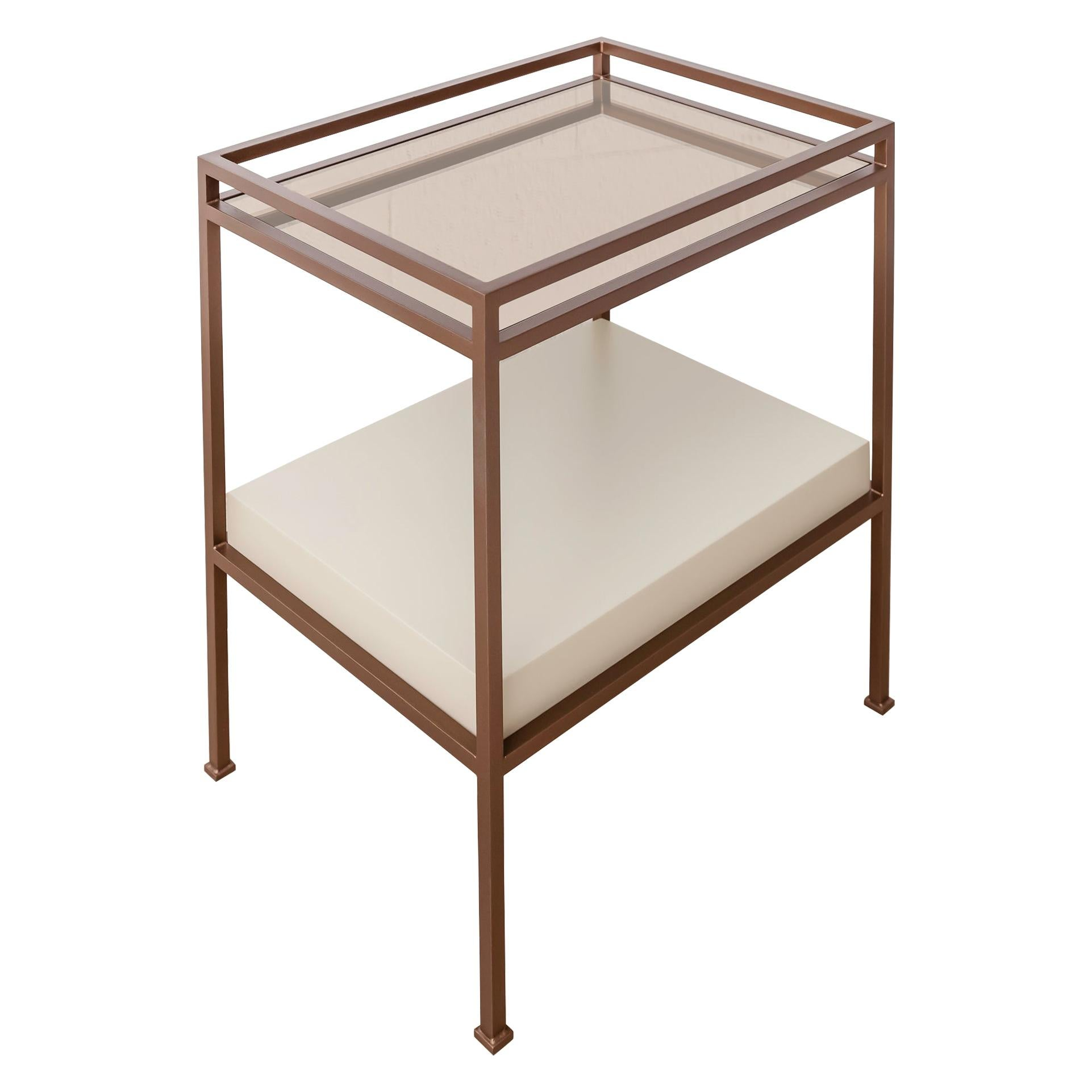 Customizable Contemporary Side Table - Bar Table by Carbonell Design