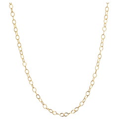 Syna 18 Karat Yellow Gold Link Chain