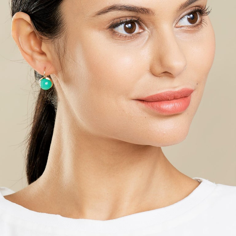 Created in 18kyg Chrysoprase 15 cts approx   About the Designers   Drawing inspiration from little things, Dharmesh & Namrata Kothari have created an extraordinary and refreshing collection of luxurious jewels. True believers of destiny, they always