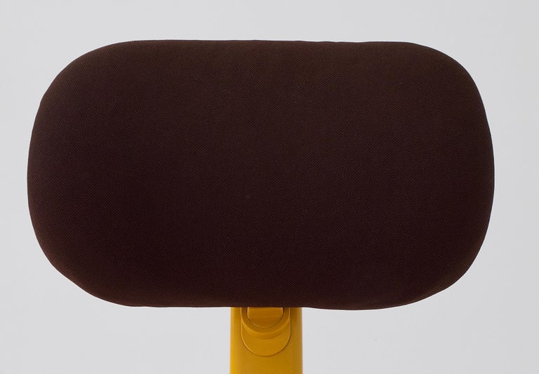 Synthesis 45 Typist Chair by Ettore Sottsass for Olivetti, Italy, 1970 For Sale 4