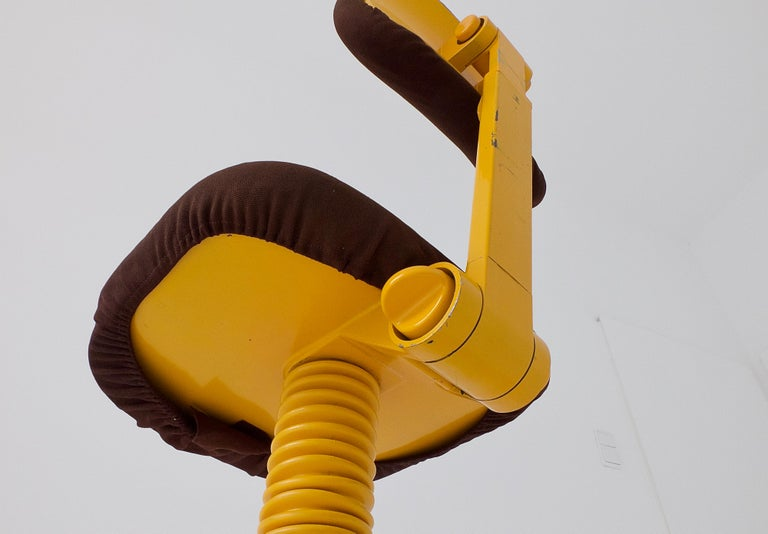 Synthesis 45 Typist Chair by Ettore Sottsass for Olivetti, Italy, 1970 For Sale 9