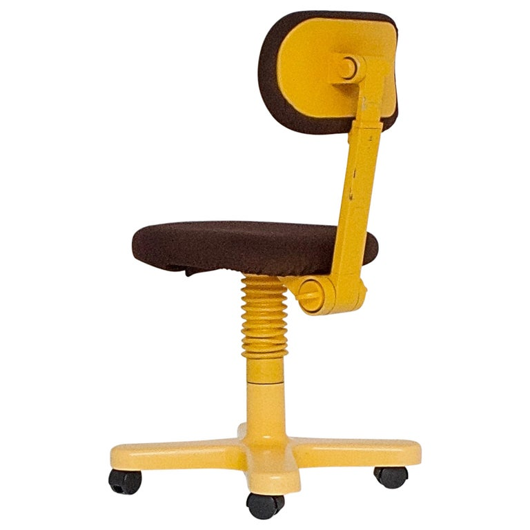 Synthesis 45 Typist Chair by Ettore Sottsass for Olivetti, Italy, 1970 For Sale