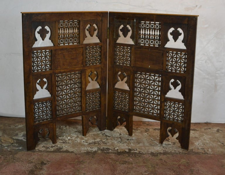 Syrian 2-Panel Tabletop Screen 2