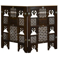 Syrian 2-Panel Tabletop Screen