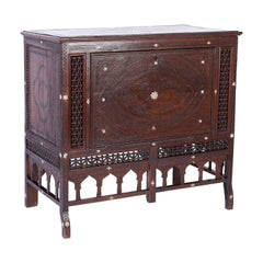 Syrian Cabinet and Blanket Chest