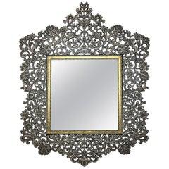 Syrian Design Penwork Mirror