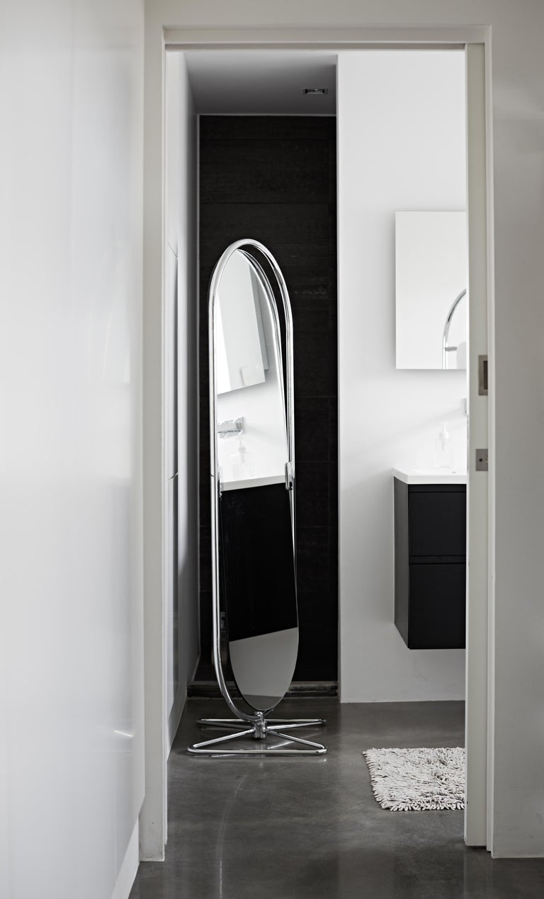 Contemporary System 1-2-3 Mirror with Chrome Fram by Verner Panton For Sale