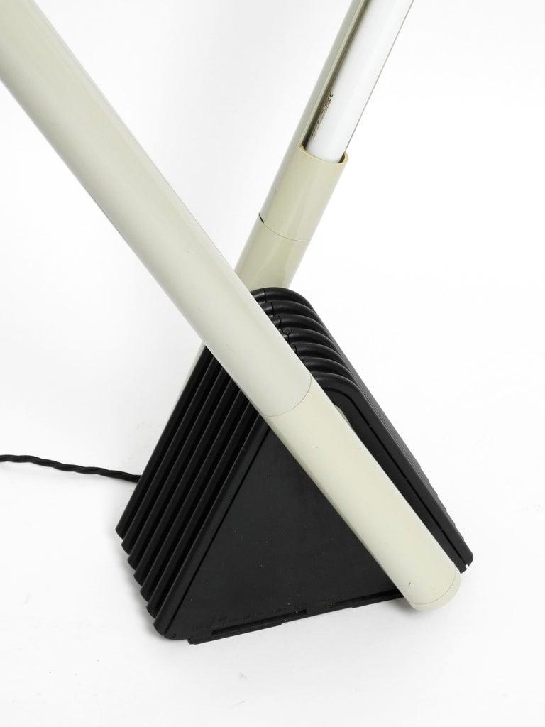 Systema Flu Neon Tube Floor Lamp Design Rodolfo Bonetto for Luci, 1981 For Sale 8