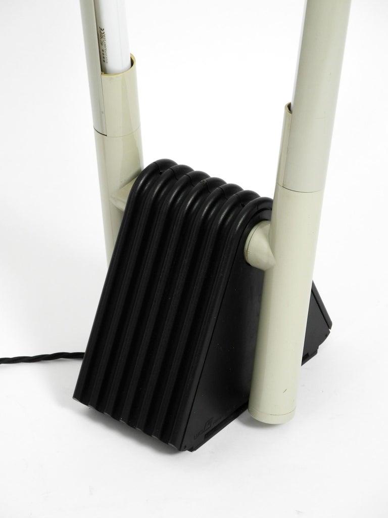 Systema Flu Neon Tube Floor Lamp Design Rodolfo Bonetto for Luci, 1981 For Sale 10