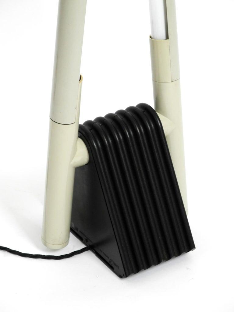 Systema Flu Neon Tube Floor Lamp Design Rodolfo Bonetto for Luci, 1981 For Sale 1