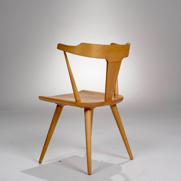 Mid-Century Modern T-Back Planner Group Chair by Paul McCobb for Winchendon For Sale