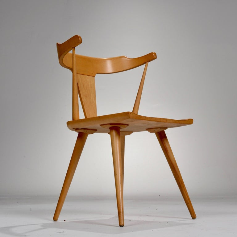 T-Back Planner Group Chair by Paul McCobb for Winchendon In Good Condition For Sale In Los Angeles, CA