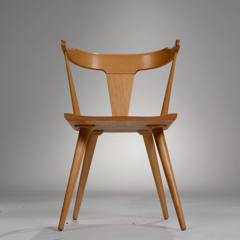Mid-20th Century T-Back Planner Group Chair by Paul McCobb for Winchendon For Sale