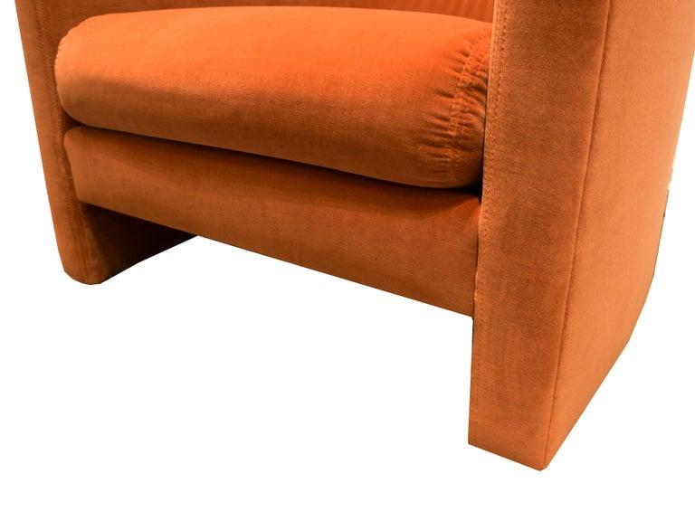 Mid-Century Modern t brown studio U-Lounge Chair For Sale