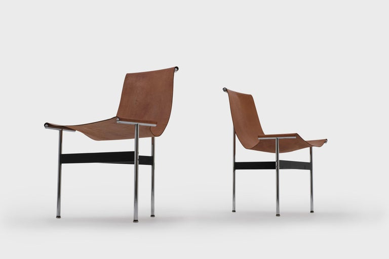 American T-Chairs by Katavolos, Kelley and Littell for ICF, 1952 For Sale