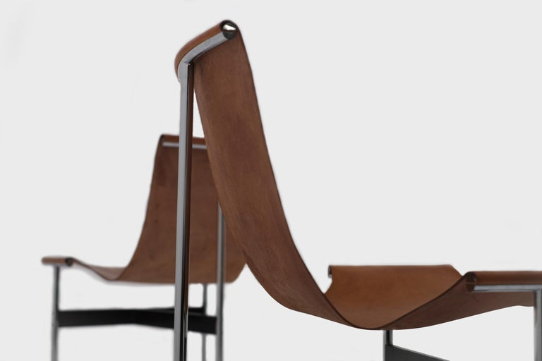 1950s T-Chairs by Katavolos, Kelley and Littell for ICF, 1952 For Sale