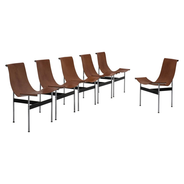 T-Chairs by Katavolos, Kelley and Littell for ICF, 1952 For Sale