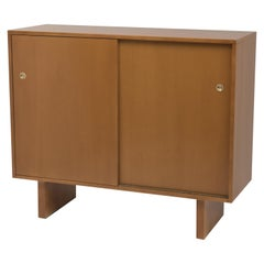 T H Robsjohn-Gibbings for Widdicomb Sliding Door Dresser Chest Wardrobe Cabinet
