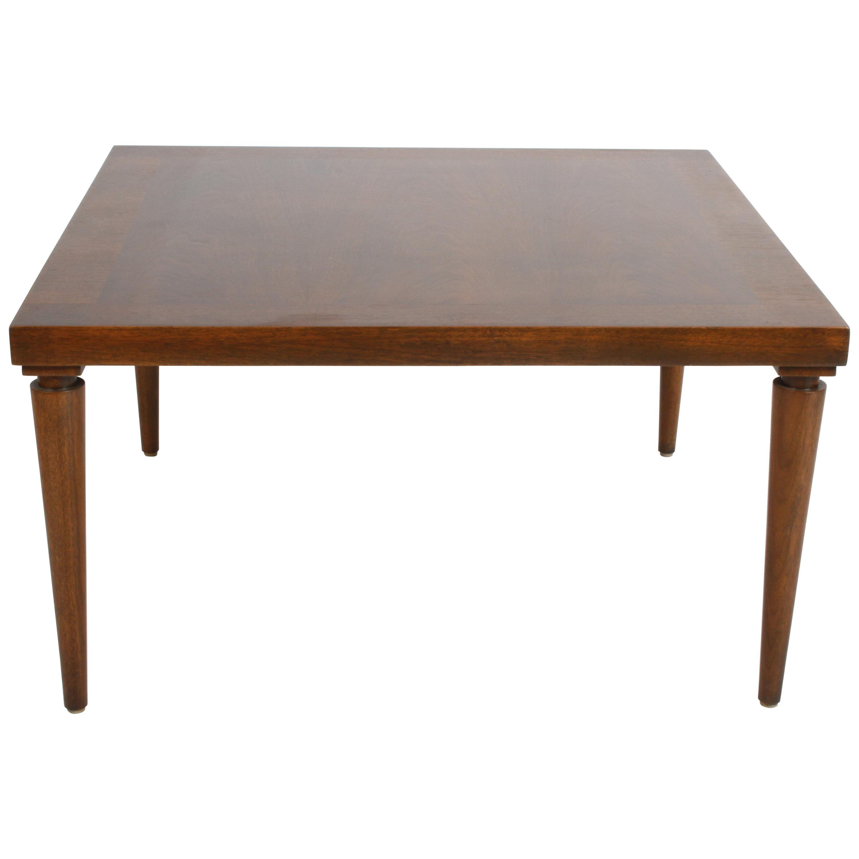 T. H. Robsjohn-Gibbings for Widdicomb Walnut Finish Coffee or End Table