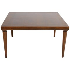 T. H. Robsjohn-Gibbings for Widdicomb Walnut Finish Coffee or End Table
